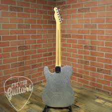 Brad Paisley Sig Fender Road Worn Tele Maple FB Silver Sparkle
