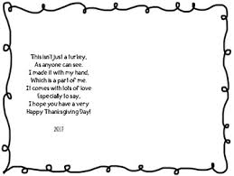 Full Size Of Coloring Pageshandprint Turkey Poem Original 3486143 2 Pages Large