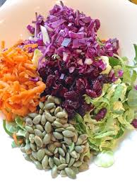 Sprout Pumpkin Seeds Recipe by Brussel Sprout Salad With Pumpkin Seeds And Cranberries