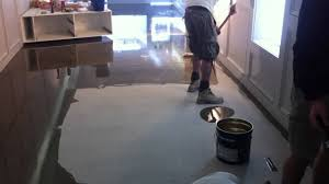 Behr Garage Floor Coating by Cromellins Wet Look Concrete Sealer Youtube