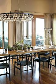 Beautiful Modern Chandeliers Dining Room Delightful Design