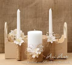 Rustic Wedding Set Burlap Candles Glasses Party Favors PDF