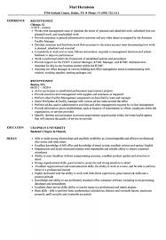 Receptionist Resume Samples Velvet Jobs Examples Sample Pdf Re Medium Size