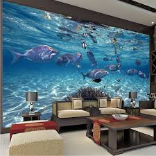 diy materials aquarium corals fish underwater 3d wall