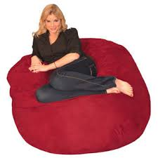 Cheap Bean Bag Chairs You Can Look Red Chair Fuzzy