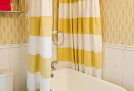 Yellow And White Striped Curtains by Bird Curtain Rod Furniture Ideas Deltaangelgroup