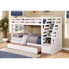 Twin Over Twin Bunk Beds With Trundle by Bunk Beds Bunk Beds With Desk Full Over Full Bunk Bed Plans Loft