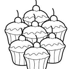 coloring page of a cupcake cupcakes coloring pages cupcake coloring pages printable images of cupcakes coloring