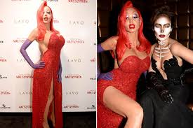 Halloween Heidi Klum Jessica Rabbit by Heidi Klum U0027s Halloween Curves Were A Struggle Page Six