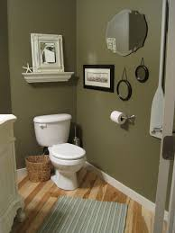 Burgundy Coloured Bathroom Accessories by Powder Room The Almost Afters Painted Mirrors Shelves And
