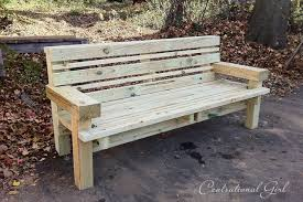 woodworking outdoor wood bench plans free plans pdf download free