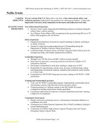Military To Civilian Resume Examples New Experience Download Now Of