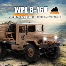 Yellow1 WPL B-16K 1/16 6WD Military Truck RC Off-road Crawler With ... Szjjx Rc Cars Rock Offroad Racing Vehicle Crawler Truck 24ghz Remote Control Electric 4wd Car 118 Scale Jual Rc Offroad Monster Anti Air Mobil Beli Bigfoot Off Road 24 Amazoncom Radio Aibay Rampage Bigfoot Best Toys For Kids City Us Big Red 6x6 Mud Action By Insane Will Blow You Choice Products Toy 24g 20kmh High Speed Climbing Trucks I Would Really Say That This Is Tops On My List