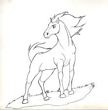 Spirit Stallion Of The Cimarron Coloring Pages Within