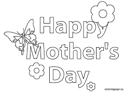 Impressive Happy Mothers Day Coloring Pages Cool Inspiring Ideas