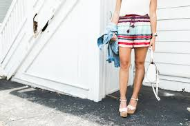 striped shorts or bust glitter u0026 gingham