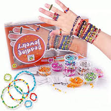 Kids DIY Beads For Jewelry Making KitBead Toy Girls Crafts Ages 8 12
