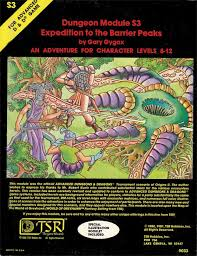 Re Examining The Old School RPGs Module S3 Expedition To Barrier Peaks