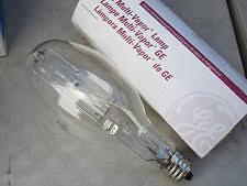 r350 ge multi vapor l metal halide pulse arc light bulb ebay