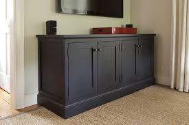 Black Dining Room Buffet Cabinet New Decoration For Serving Sideboard