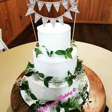 Beautiful Rustic Vegan Wedding Cake Made Always With Love Image May Contain Indoor