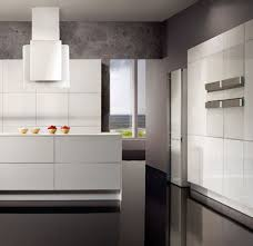 Stunning Modern Kitchen With White Appliances Pertaining To House Decorating Ideas