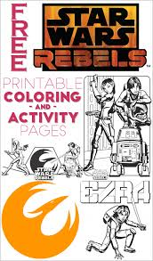 Printable Star Wars Rebels Coloring Pages And Activity Sheets