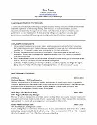 Portfolio Manager Cover Letter Example New Sample Regional Banking Executive Resume