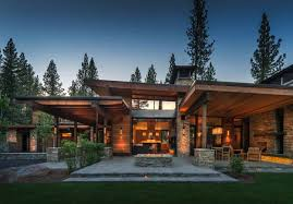 100 Mountain Modern Design Modern Home In Martis Camp With Indooroutdoor Living