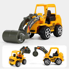 Kids Toy Mini Construction Truck Excavator Digger Demolition Vehicle ...
