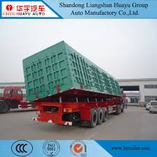 100 Semi Truck Brands China Heavy Duty Manufacturers Side DumperTipperTipping