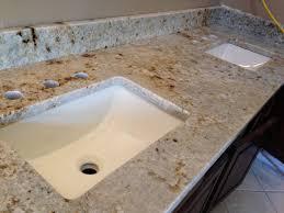 Bathroom Vanity Tops With Sink by Granite Vanity Tops With Rectangle Bathroom Sink Also Bathroom