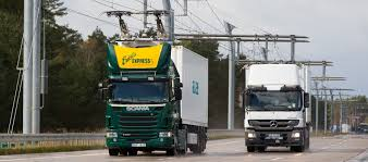 First Overhead Contact Line To Charge Moving Electric Trucks Is ...