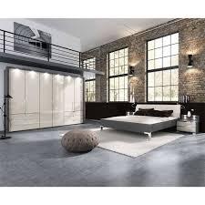 komplett schlafzimmer in creme braun nasses 4 teilig