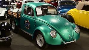1974 VW Beetle Custom Truck - YouTube