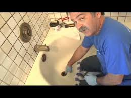 Bathtub Overflow Plate Replacement by Tub Drain And Overflow Plate Repair Youtube