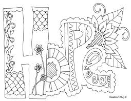 Printable Adult Coloring Pages Inspiration Graphic Pinterest Free