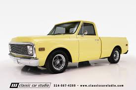 1972 Chevrolet C10 | Classic Car Studio Las Vegas Nv Usa 5th Nov 2015 Custom 1970 Chevy C10 Truck By Seales Restoration Trucks 4x4 Early 70s Pinterest Cars History Of The Ck C10 C15 1967 1968 1969 Chevy Truck Ck Survivor 71 Chevrolet C K 1971 1972 Rims Lovely Patina All C60 Flatbed Dump Item H5118 Sold M File1970 Pickupjpg Wikimedia Commons Red Front View Editorial Image Dual Tank Cool Old Trucks Gmc