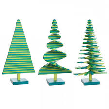 Petite Tabletop Green Christmas Tree In Gift Packaging
