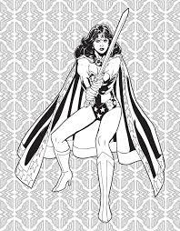 Dc Comics Wonder Woman Coloring Book 9781608878925in03