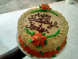 how much is a birthday cake in cake brown