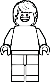 Lego Ninjago Coloring Pages Golden Ninja Man Page Police To As Well Person Figure Kids Regard