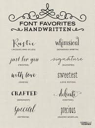 Tattoo Elegant Handwritten Fonts Favorites From Elegance