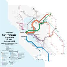 Mapping the derelict lines of the Bay Area
