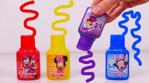 bath paint for kids learn colors with minnie mouse youtube