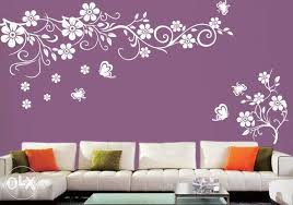 Best Design Home Wall Painting Designs Diy Stencil For