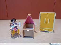 playmobil chambre bébé playmobil chambre bébé avec berceau a vendre 2ememain be