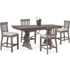 Charthouse Counter Height Dining Table And 4 Stools