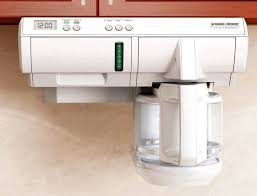 White 12 Cup Programmable Under The Cabinet Coffeemakers