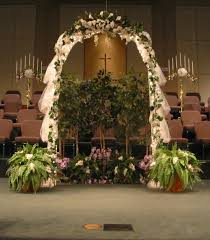 Indoor Wedding Arch Ideas